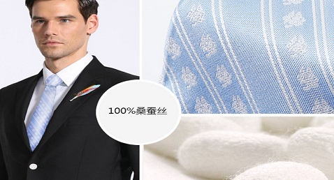 Silk tie, witness the history of men's taste sublimation